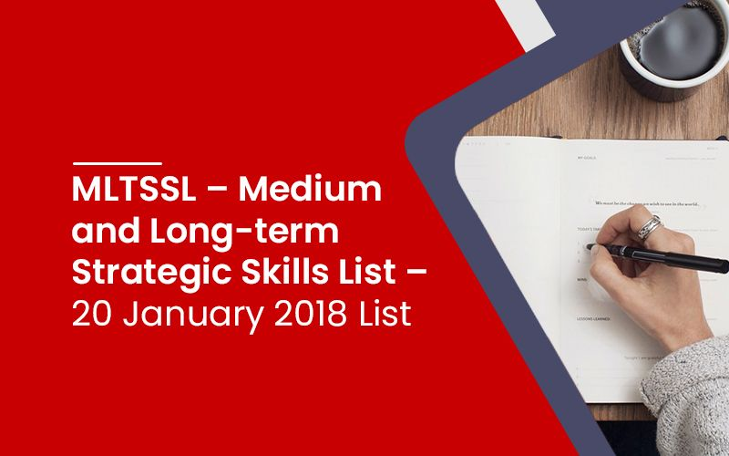 Medium and Long-term Strategic Skills List