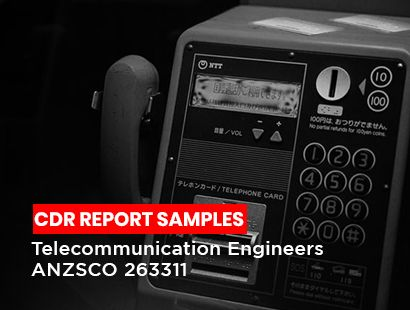 cdr sample for Telecommunication Engineers