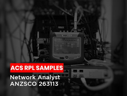 acs rpl sample for network analyst