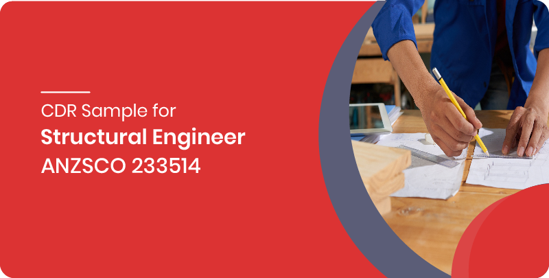 cdr sample structural engineer