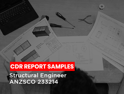 cdr sample for structural engineer
