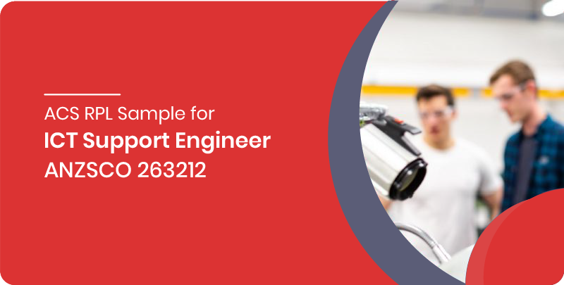 acs rpl sample ict support engineer