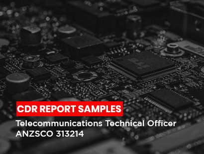 cdr sample for Telecommunication Technical officer