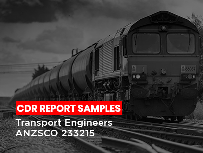 cdr sample for transport engineers