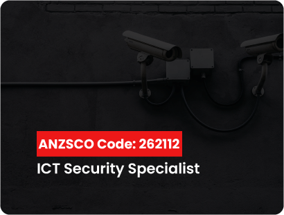 ANZSCO code for ICT security Specialist