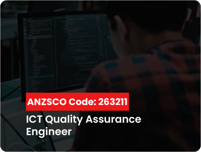 ANZSCO code for ict quality assurance angineer