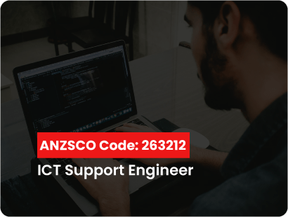 ANZSCO code for ict support engineer