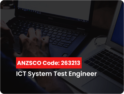 ANZSCO code for ict system test engineer