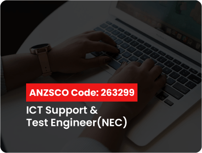 ANZSCO code for ict support and test engineer (nec)