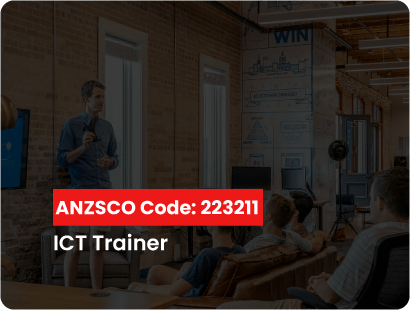 ANZSCO code for ict trainer