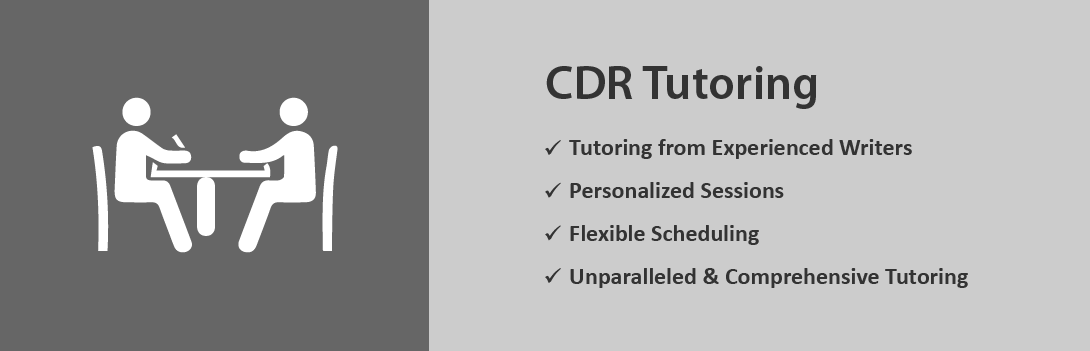 CDR Tutoring Services