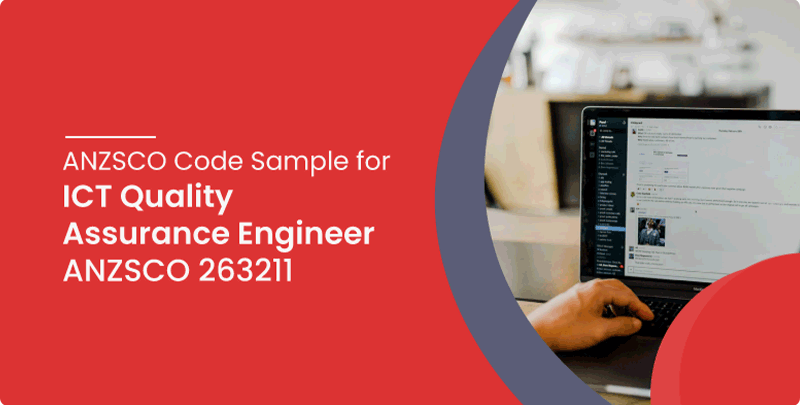 ANZSCO code sample for ICT Quality Assurance Engineer
