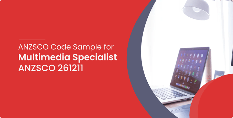 ANZSCO code sample for Multimedia Specialist