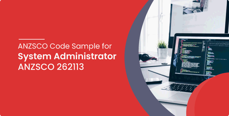 ANZSCO code sample for System Administrator