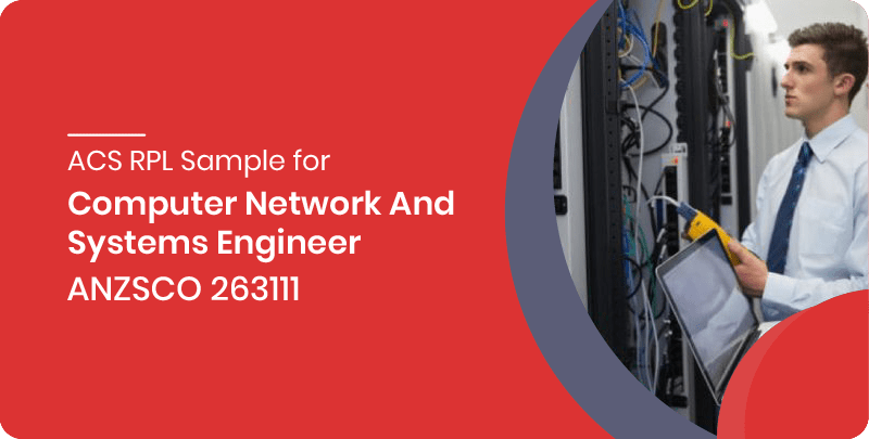 ACS RPL sample for Computer Network and Systems Engineer