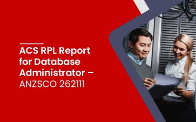 ACS RPL Report for Database Administrator