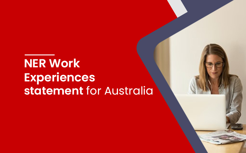 NER Work Experiences statement