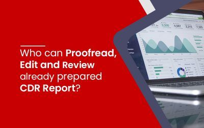 Proofread, edit and review CDR report