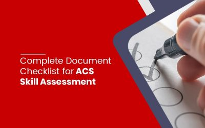 Document Checklist for ACS Skill Assessment