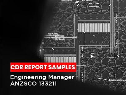 CDR report sample Engineering manager