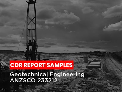 CDR report sample Geotechnical engineer