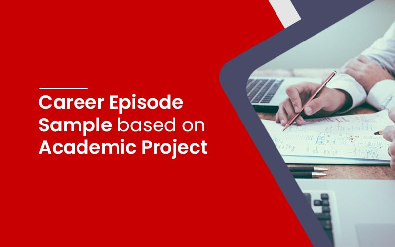 Career Episode based on academic project