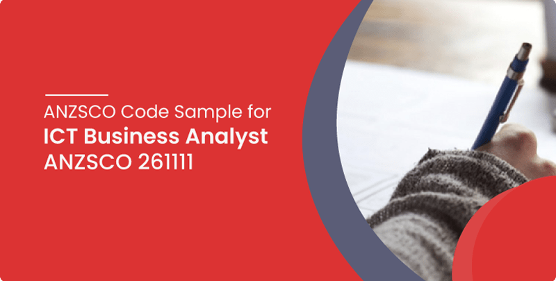 anzsco 261111 ict business analyst