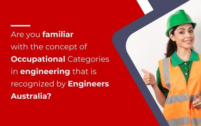 Occupational Category for Engineers in Australia