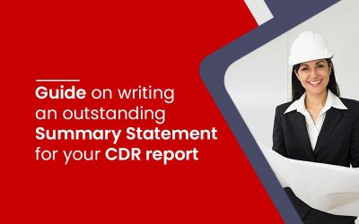 Guide on writing an outstanding Summary Statement for your CDR report