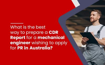 How to prepare CDR report for mechanical engineer