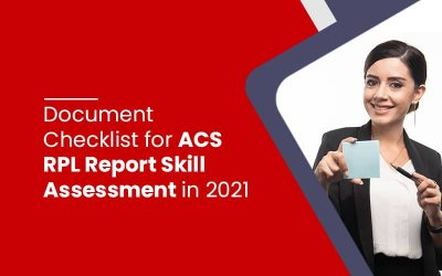 Document Checklist for ACS RPL Report Skill Assessment in 2021