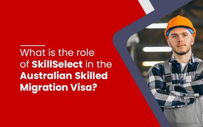 What is the role of SkillSelect EOI in the Australian Skilled Migration Visa